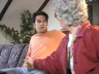 grandma surprises her grandson by snahbrandy