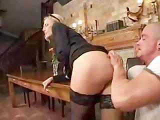 mature lady make an anal