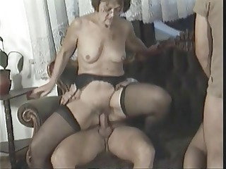 anal fuckfest with hot older honeys who love it