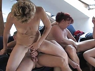 sexy mature whores fucking hard with a chap