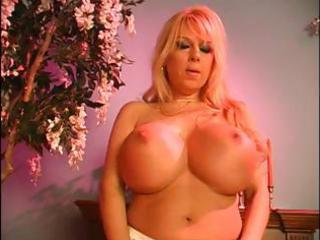 busty golden-haired mother i gets s garb and uses