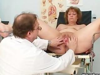 lustful doctor abusing a impure grandma part1