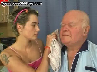 granddad receives to have a joy hawt time part0