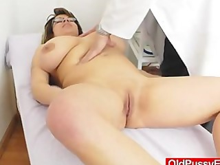 giant natural melon size titties at obgyn