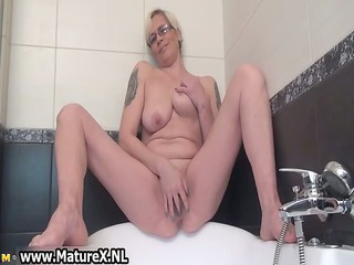concupiscent housewife widening and pleasant