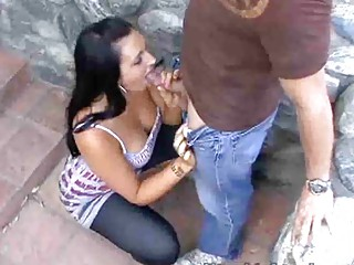 steamy outdoor milf blowjobs