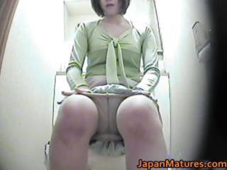 concupiscent japanese older chicks sucking