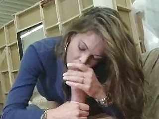 scorching wife hunter bryce stuffs her mouth with