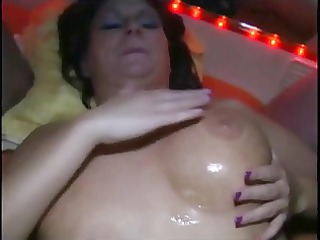 bukkake with busty older