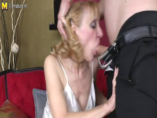 grandmother acquires drilled by her toyboy