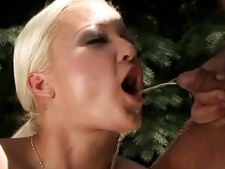 granddad fucking and pissing on hawt golden-haired