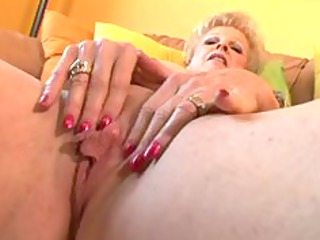 hot granny receive drilled