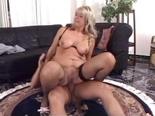 mature blonde with big pointer sisters goes