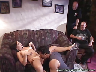 wife loves intensive pussy eating