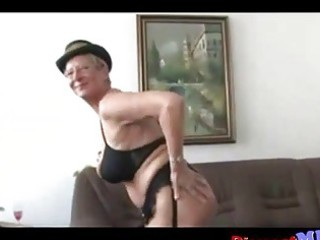 indecent euro granny with glasses receives fucked