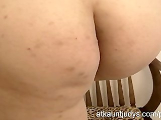 milf emily is shy but despairing for her big o