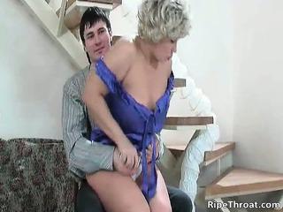 large boobed breasty naughty mils blond slut part3