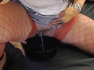 doxy wife likes obscene piddle games