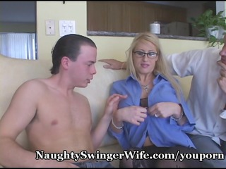 nasty wife fed two cocks