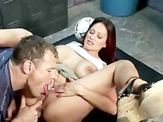ava lauren sexy mother i in locker room