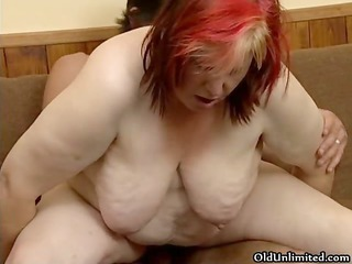 naughty chunky woman acquires her curly wet cunt