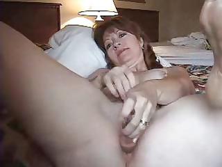 horny aged wife anal masturbating