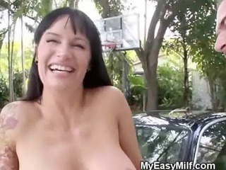 dirty brunette hair d like to fuck on her knees