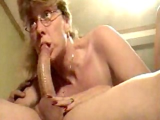 sexy aged wife sucking dick