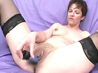 mature broad takes a load in the face