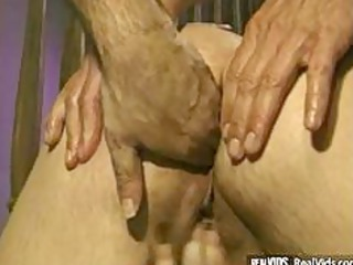 chubby golden-haired d like to fuck drilled by