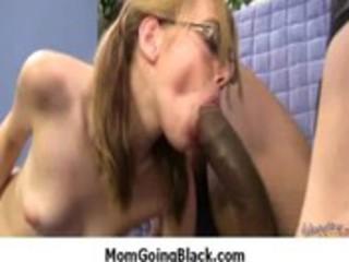 milf porno scene : interracial darksome jock