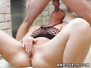 dilettante mother i anal fucking with cum in mouth