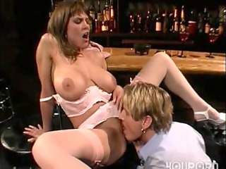 doxy wench copulates in the bar