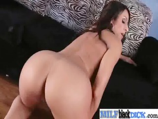 milf slut acquire drilled hard by darksome