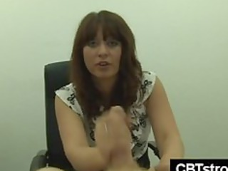 milf hits pounder indeed hard during cbt tugjob
