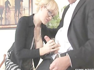 alana jerks out a biggest jizz flow