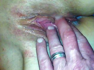 cum filled georgia milf fur pie