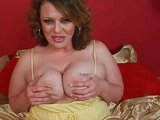 glamorous massive brunette hair momma sticks big