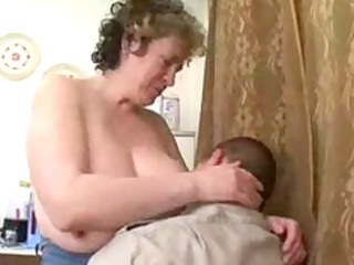 aged russian seduces chubby chap