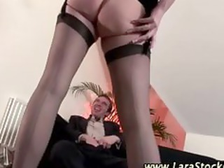 posh older nylons honey acquires impure