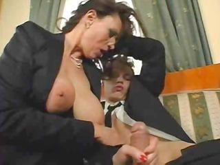 mature breasty secretary sex