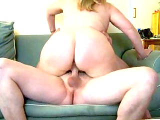 mature fat wife on couch