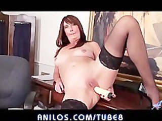 curvy cougars office orgasm