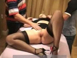 wife takes facial from stranger and hubby