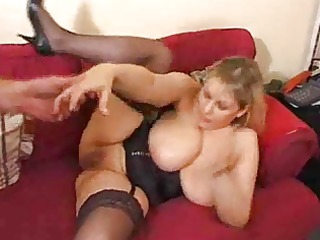 large titted submissive mother i does anal by