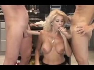 italian mother i serves 3guys in the kitchen