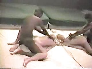 young blond wife with dark lover - dilettante