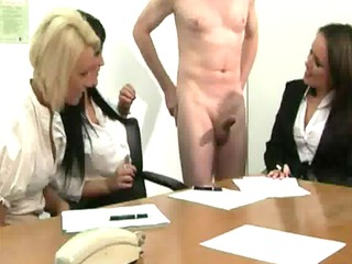 cfnm office milfs sexy for schlong