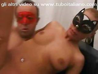 horny italian masked wives like mogliettina