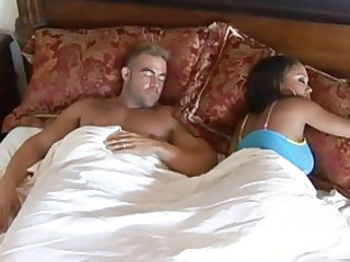 ebon wife with large tits cheating spouse and